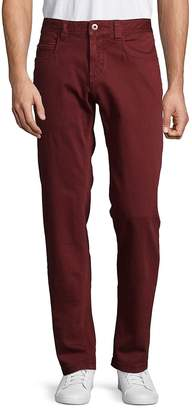 Loro Piana Men's Solid Stretch Cotton Pants