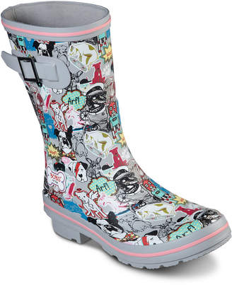 Skechers Women Bobs for Dogs Rain Check Boots from Finish Line