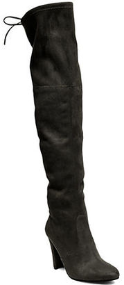 Steve Madden Gorgeous Over-the-Knee Boots $129 thestylecure.com