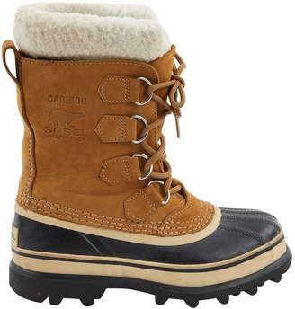Sorel Beige Suede Ankle boots