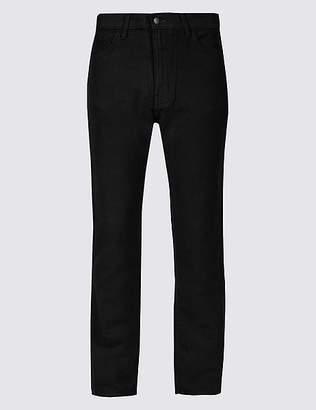 Marks and Spencer Italian Moleskin Regular Fit 5 Pocket Trousers