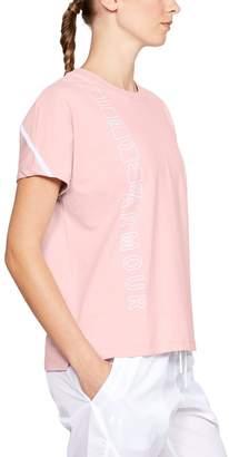 Under Armour Women's Lighter Longer Graphic Short Sleeve Tee