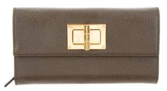 Tom Ford Leather Continental Wallet