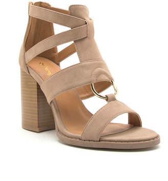 Qupid Womens Brammer 42 Heeled Sandals