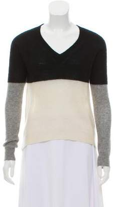 Enza Costa Long Sleeve Cashmere Sweater