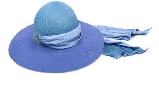 Eugenia Kim Honey Floppy Ombre Hemp Sun Hat with Satin Band