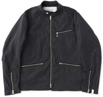 United Arrows (ユナイテッド アローズ) - UNITED ARROWS & SONS(ユナイテッドアローズ&サンズ)FAKE SUEDE RIDER JACKET