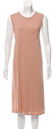 Alexander Wang Layered Sleeveless Midi Dress
