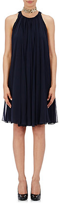 Lanvin Women's Pleated Chiffon Trapeze Dress $3,590 thestylecure.com