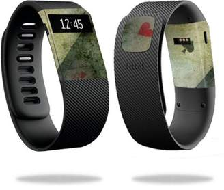 Fitbit Mightyskins MightySkins Protective Vinyl Skin Decal for Charge Watch cover wrap sticker skins Aces