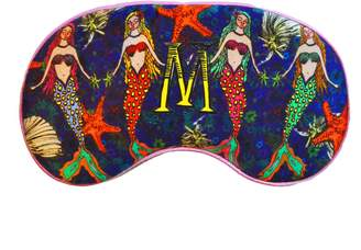 Jessica Russell Flint M For 4 Mermaids Silk Eye Mask In Giftbox