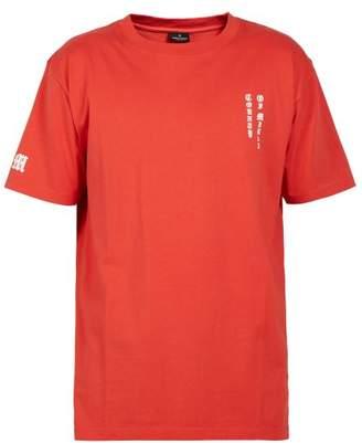 Marcelo Burlon County of Milan Skull Print Cotton T Shirt - Mens - Red