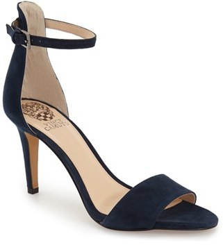Vince Camuto 'Court' Ankle Strap Sandal $97.95 thestylecure.com