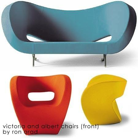 Moroso - victoria and albert collection by ron arad for moroso of italy - QUICKSHIP