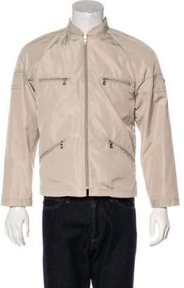 Prada Woven Zip Jacket