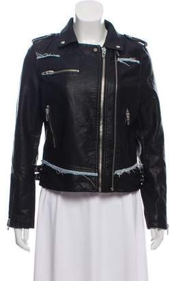 Blank NYC Faux Leather Biker Jacket w/ Tags