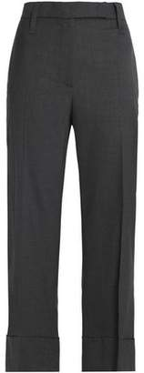 Brunello Cucinelli Wool Kick-Flare Pants