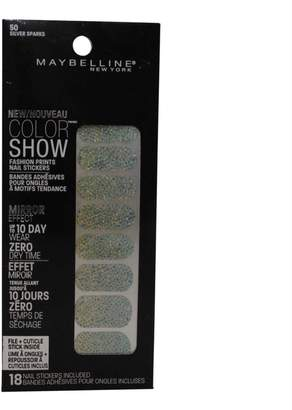 Maybelline 3 Pack Color Show Fashion Prints Nail Stickers
