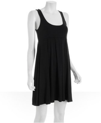 Tart black jersey 'Jodi' tank dress