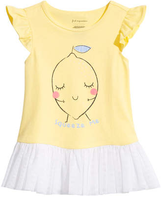 First Impressions Toddler Girls Squeeze Me Graphic Top