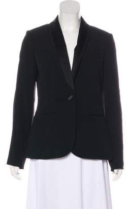 Temperley London Woven Shawl Lapel Blazer