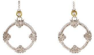 Judith Ripka Diamond Garland Earrings