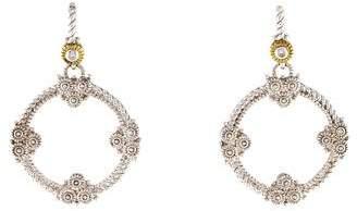 Judith Ripka Diamond Garland Earrings