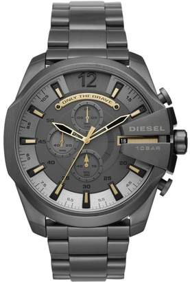 Diesel R Mega Chief Chronograph Bracelet Watch, 51mm x 59mm