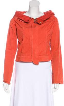 Hache Cargo Cropped Jacket