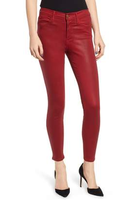 Frame Le Color High Waist Skinny Jeans