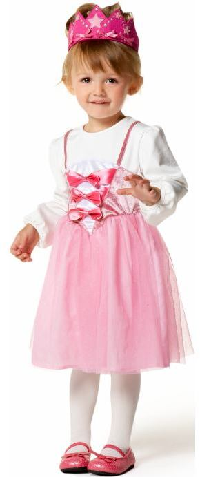 Balloon-Sleeve Princess Costumes for Baby