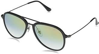 Ray-Ban Plastic Unisex Aviator Sunglasses