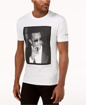 Sean John Men's Diddy White Party Graphic-Print T-Shirt