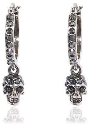 Alexander McQueen Mini Skull Hoop Earrings