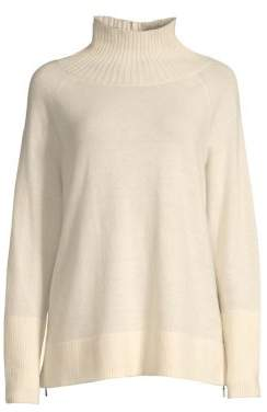 Lafayette 148 New York Funnel-Neck Sweater