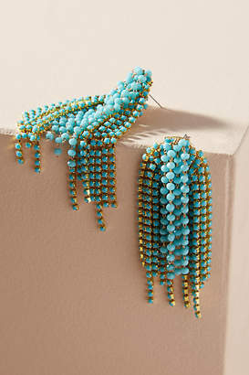 Anthropologie Fireworks Drop Earrings