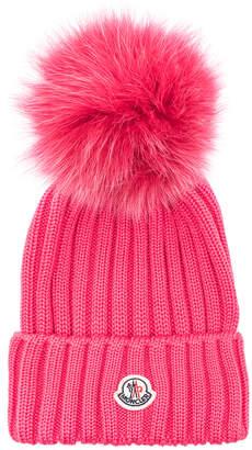 7d3a0fa8613 Pink Pom Pom Beanie - ShopStyle
