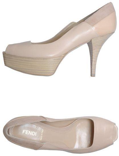 Fendi Pumps with open toe