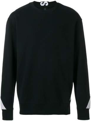 Versus two-tone logo sweatshirt