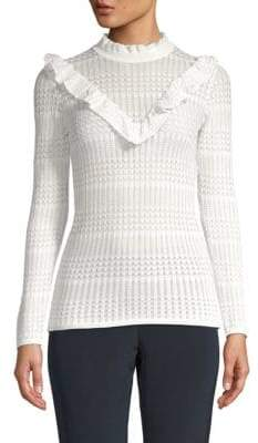 Ruffled Stitch Sweater