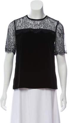 CAMI NYC Short Sleeve Crew Neck Top w/ Tags