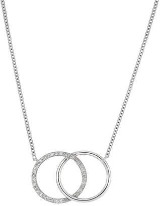 Carriere Medium Interlocking Circle Pendant Necklace (Nordstrom Exclusive)