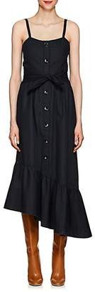 Derek Lam 10 Crosby WOMEN'S COTTON POPLIN TIERED MAXI DRESS