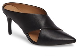 Women's Calvin Klein Gilliana Cross Strap Mule $128.95 thestylecure.com