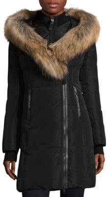 Mackage Kay Fur-Trim Down Coat
