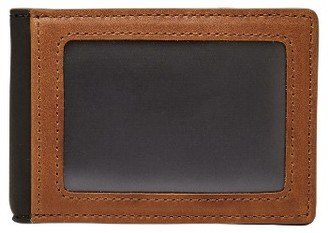 Men's Fossil Tate Rfid Leather Money Clip Wallet - Brown $40 thestylecure.com
