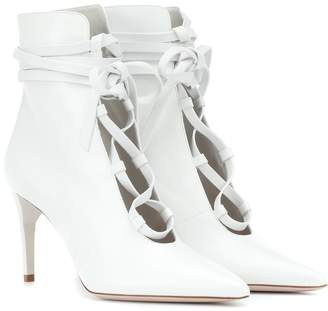 Miu Miu Leather ankle boots