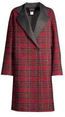 Lafayette 148 New York Braylie Plaid Coat