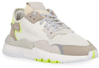 adidas Nite Jogger Lace-Up Reflective Running Sneakers