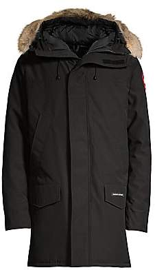 Canada Goose Men's Langford Fur-Trimmed Down Parka